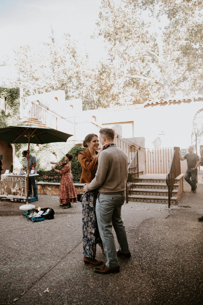 eloping in sedona tlaquepaque