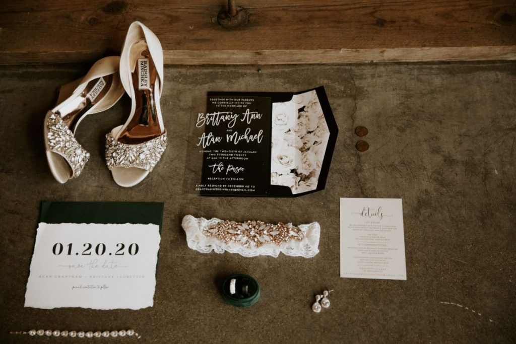Moody wedding details