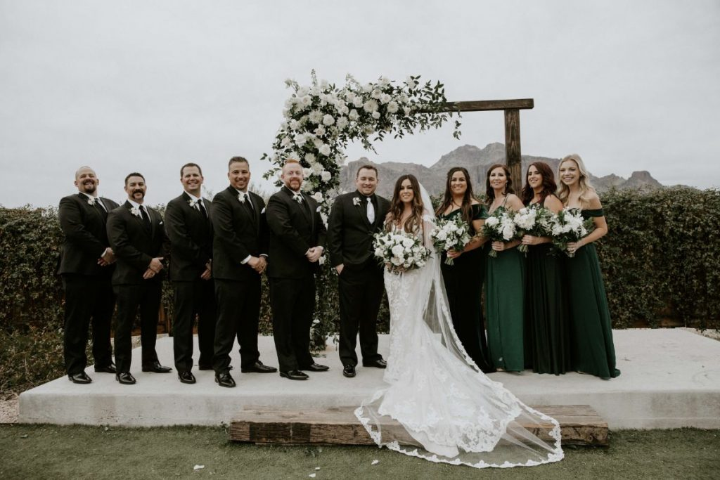 paseo bridal party