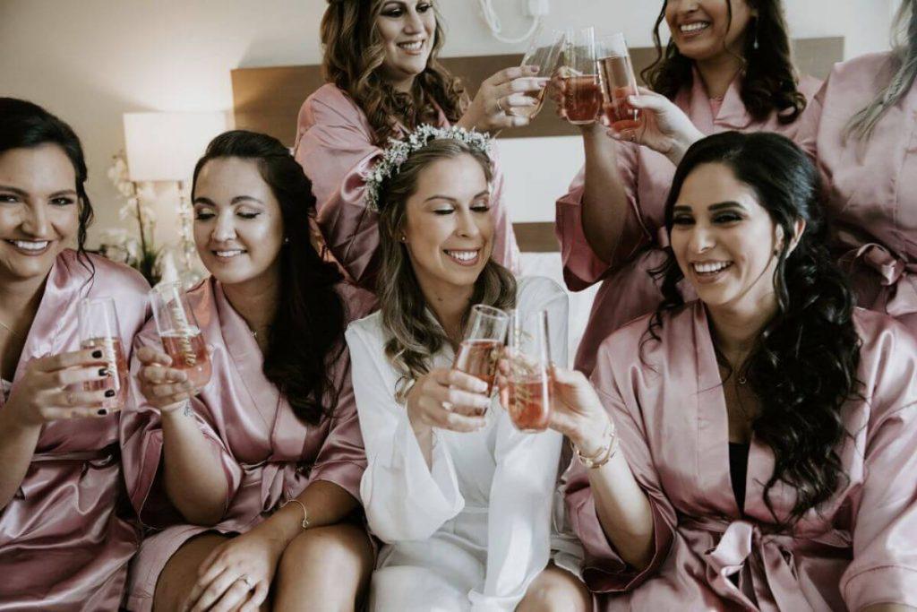 Lot 8 wedding bridesmaids