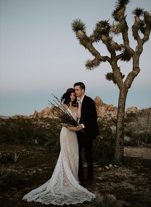 joshua tree elopement wedding photographer