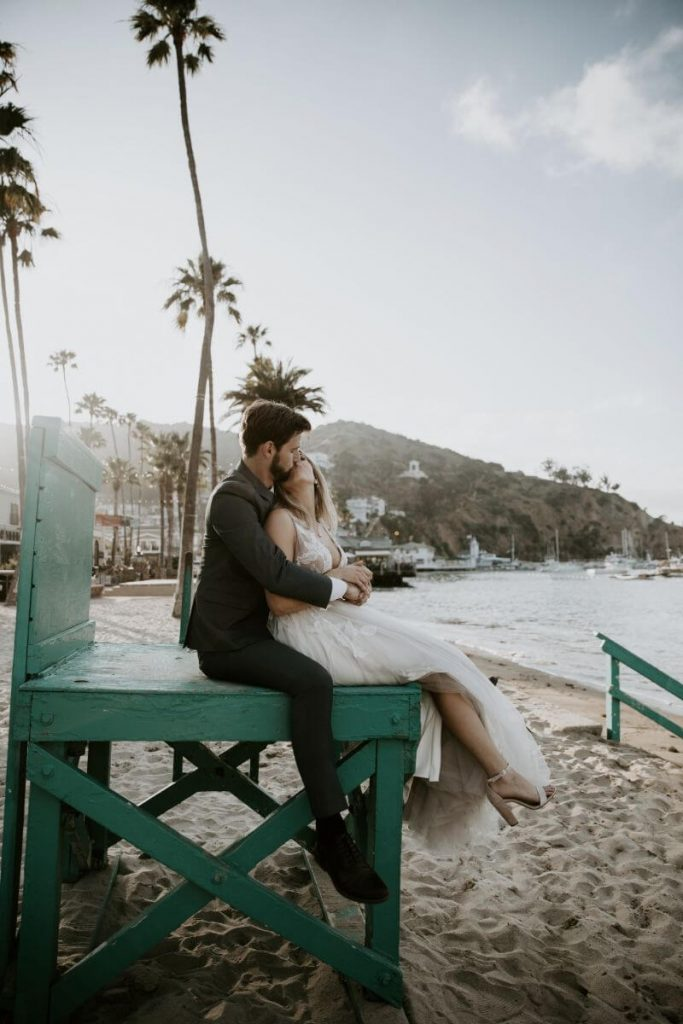 Intimate Elopement on Catalina Island