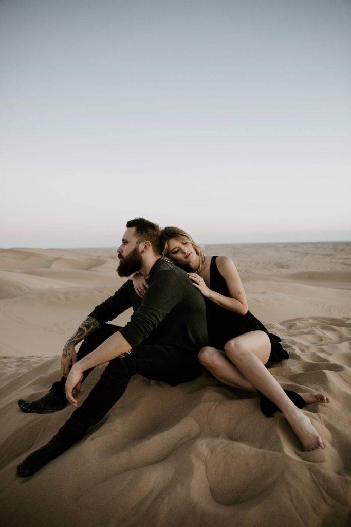 Sand Dunes Engagement Session