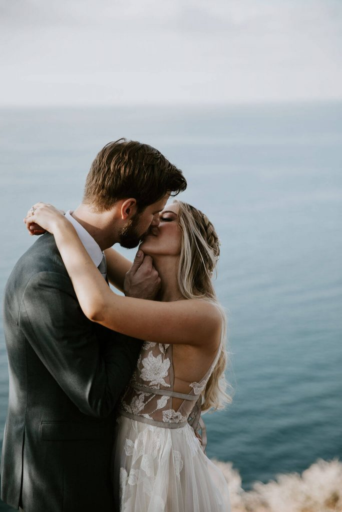 wedding elopement on Catalina Island