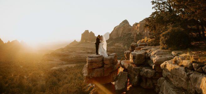 eloping in sedona overlook