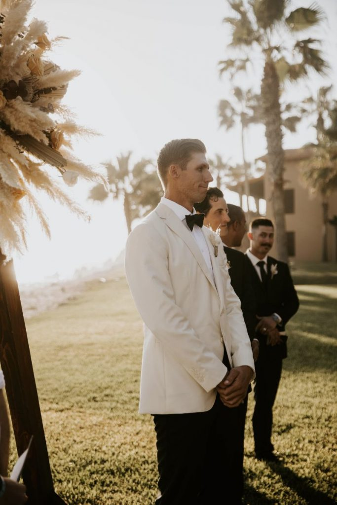 luxury Cabo wedding ceremony
