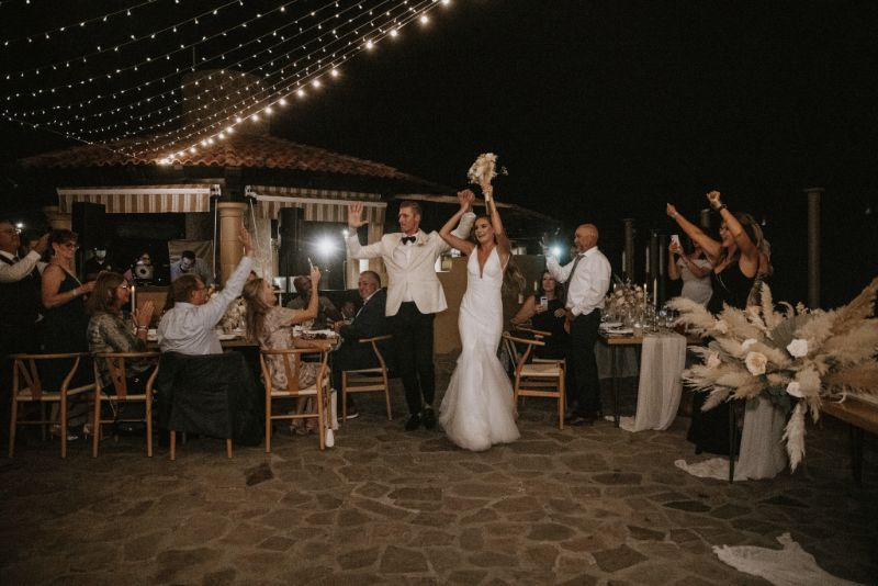 luxury wedding Cabo san lucas reception party