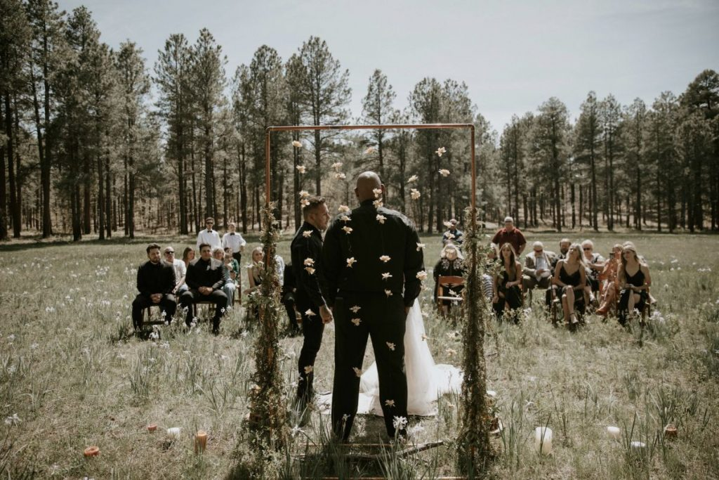 meadow elopement