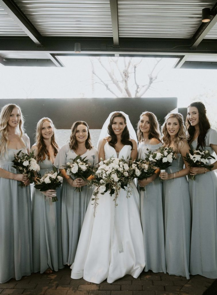 bridesmaids modern