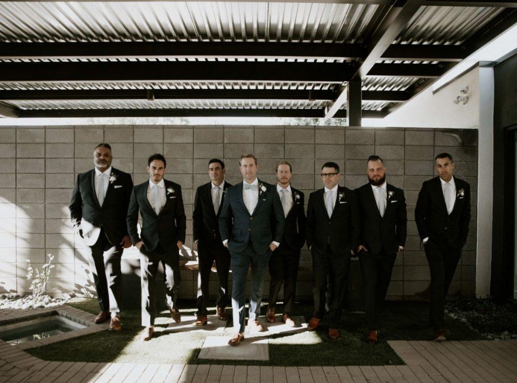 groomsmen modern