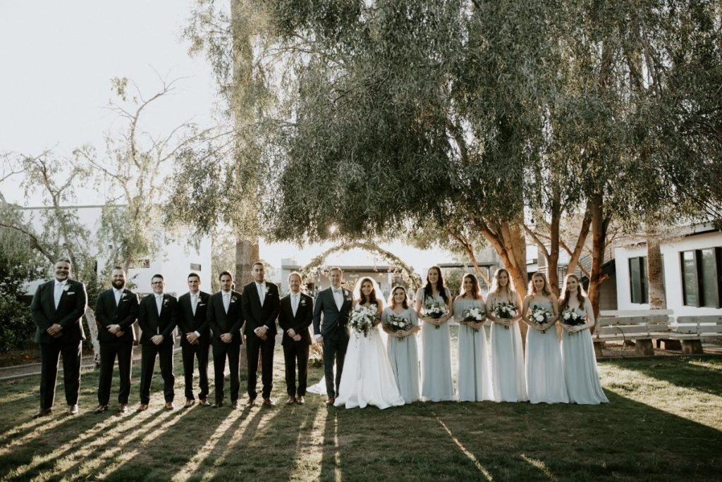 Spring Wedding in Arizona