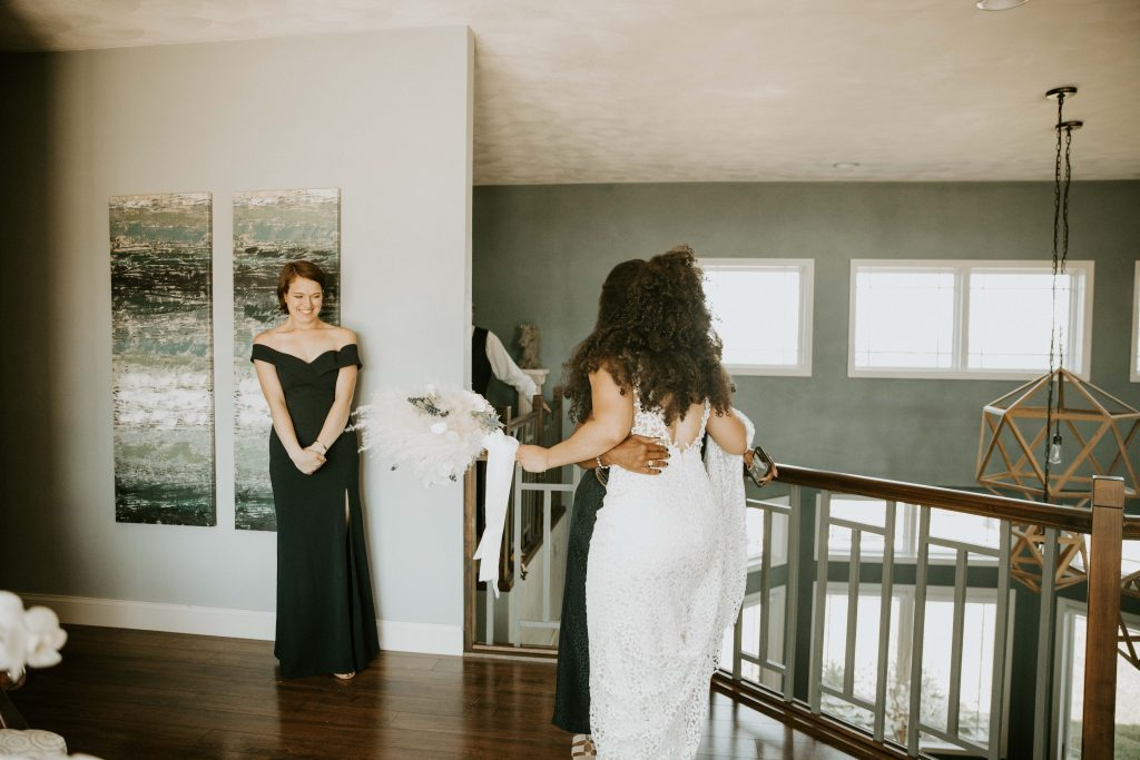 elopement bridesmaids