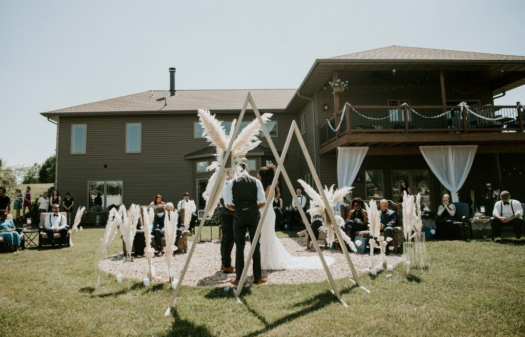 diy wedding ceremony