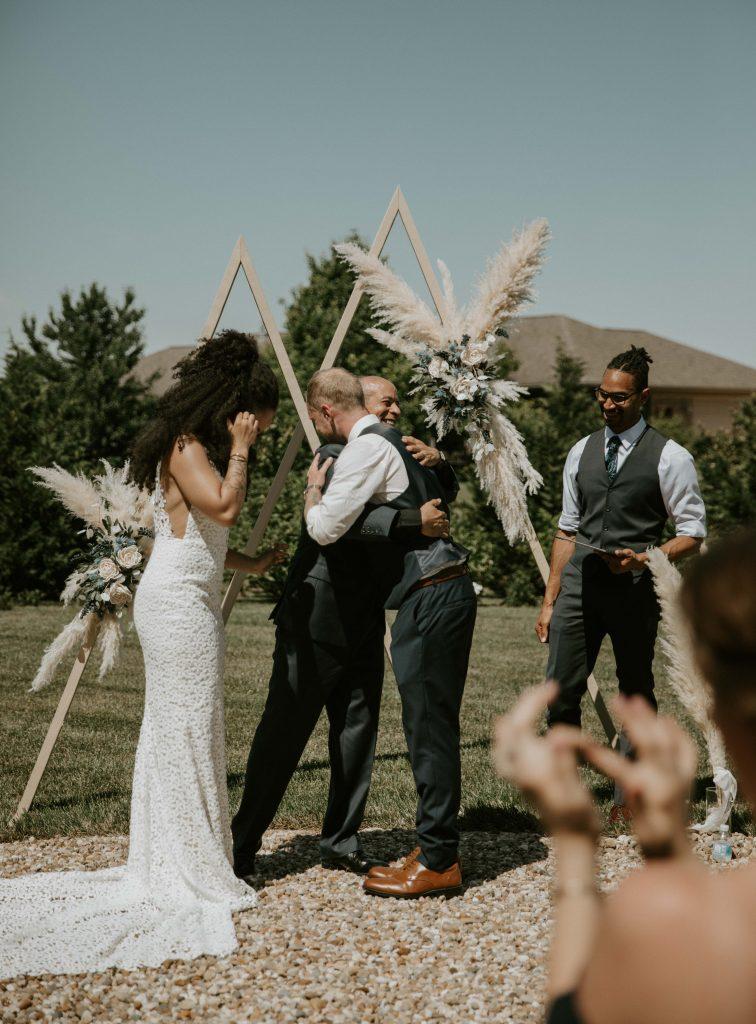 diy wedding ceremony