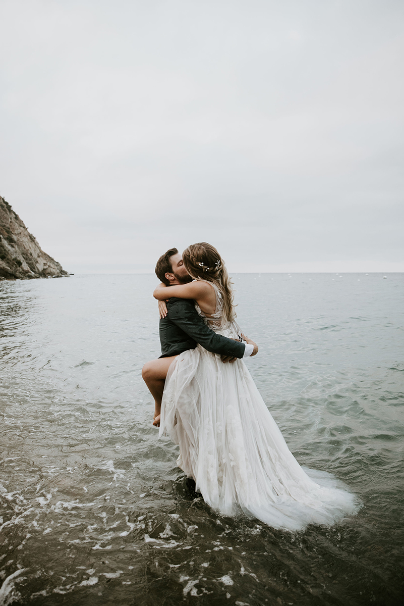 catalina island elopement photography